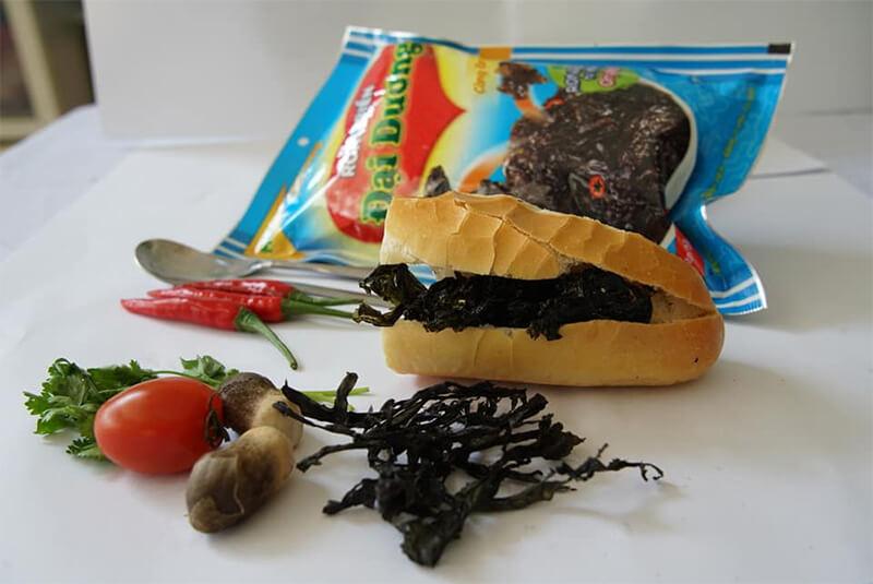 Bánh vì rong biển
